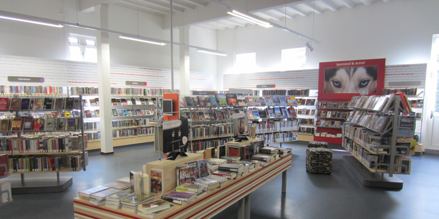 bibliotheekinrichting