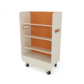 Whitebox book trolley